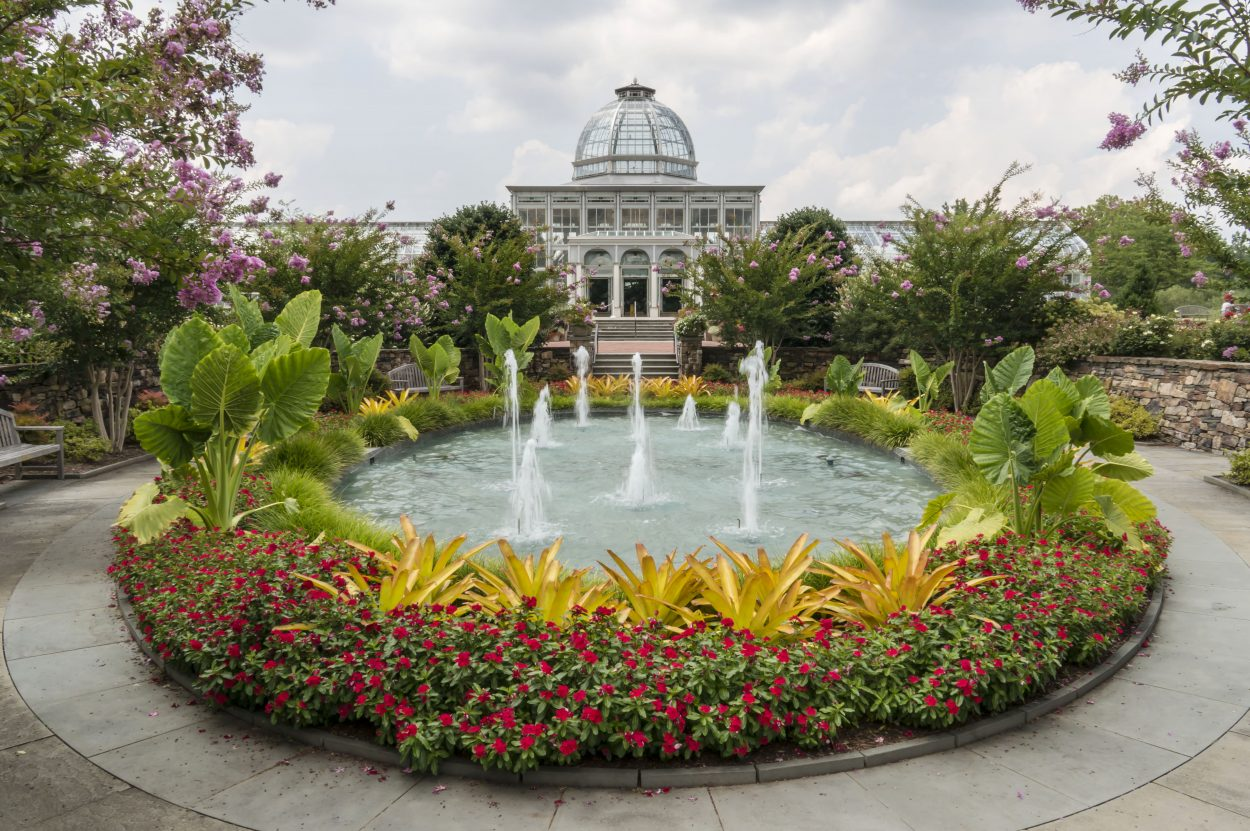 Unique venues for corporate and private events at lewis ginter botanical garden for Lewis ginter botanical gardens christmas