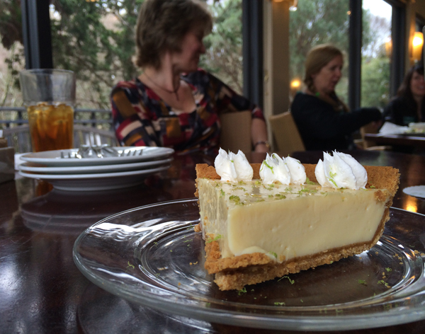 Key Lime Pie at the Robins Tea House