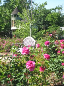 The Rose Garden at Lewis Ginter