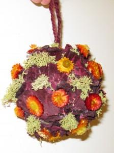botanical decorations from Lewis Ginter Botanical Garden