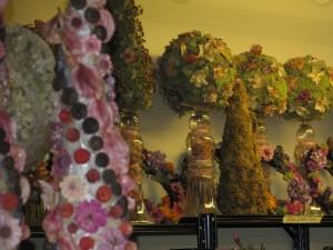 botanical decorations at Lewis Ginter Botanical Garden