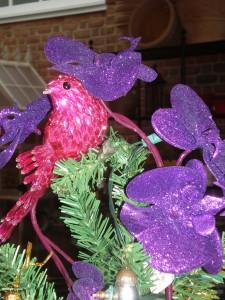 Fuchsia bird, $7.95