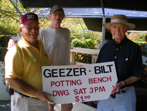 Plant Sale and Geezers