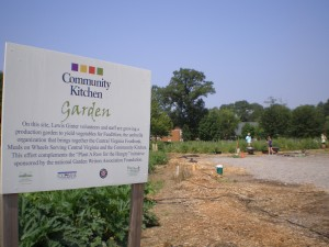 The Community Kitchen Garden -- we couldn't do it without our partners!