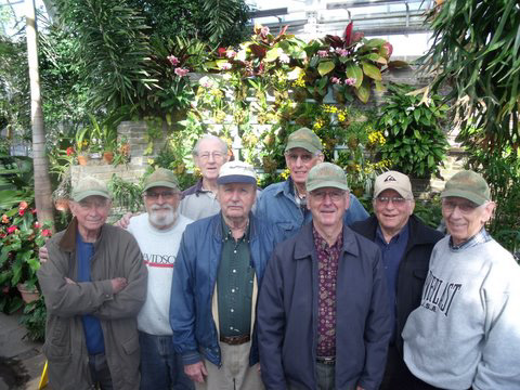The Lewis Ginter Botanical Garden Geezers