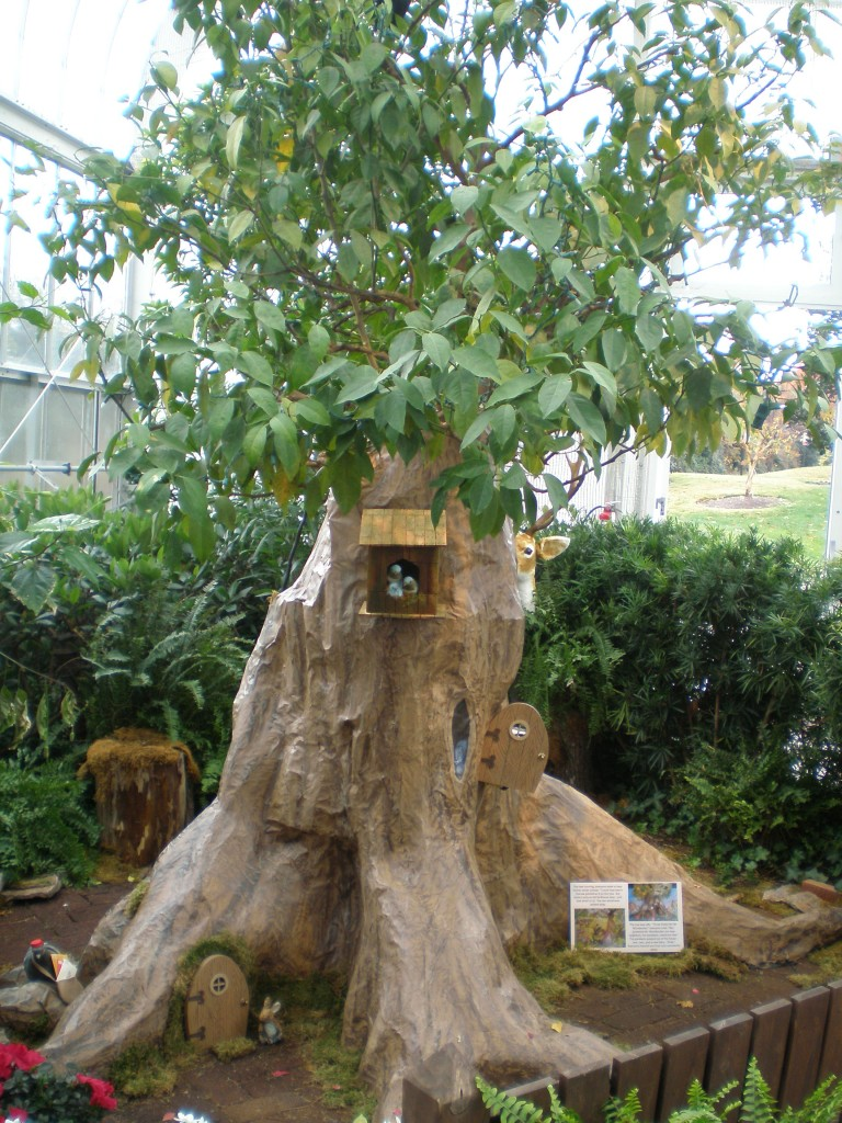 """The Old Tree"" at Lewis Ginter Botanical Garden"