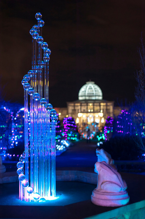 Last year's GardenFest featured Hans Godo Frabel's glasswork. Photo by Don Williamson Photography