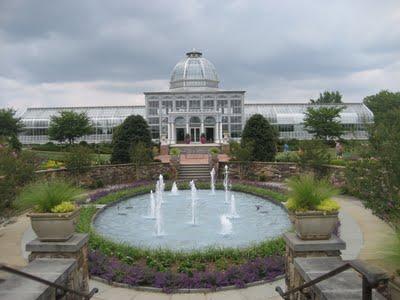 My new garden -- Lewis Ginter Botanical Garden.