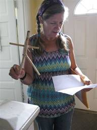 "Dawn Lipscomb, Children's Garden Educator, & Stickman's ""Gramma"""