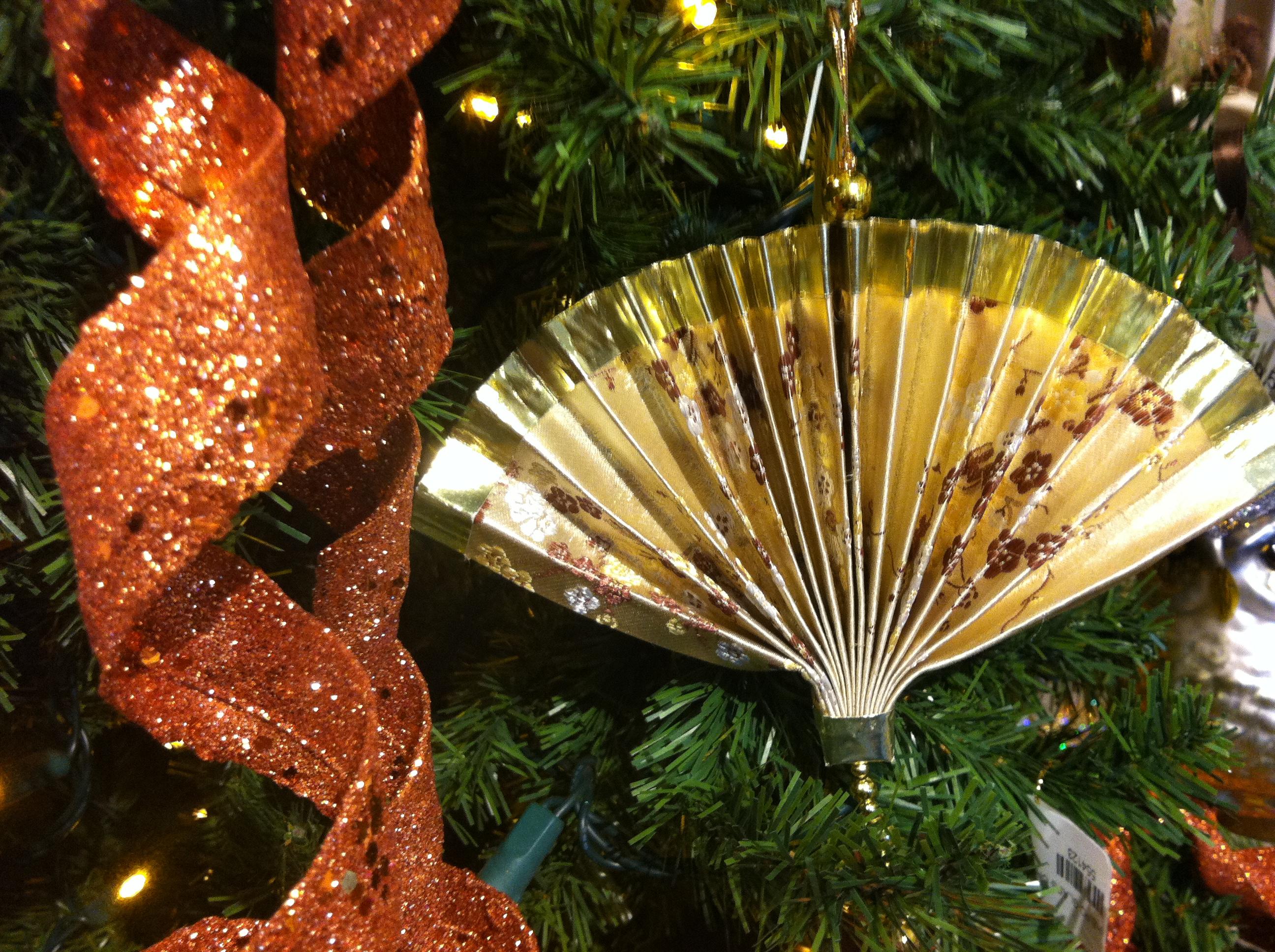 Asian christmas ornaments - An Asian Fan Simple But Classy 7 50