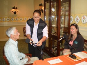 StoryCorps visiting Lewis Ginter Botanical Garden
