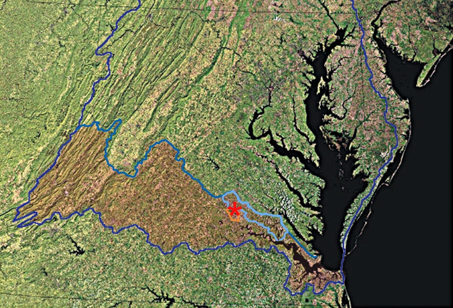 Chesapeake Bay Satellite