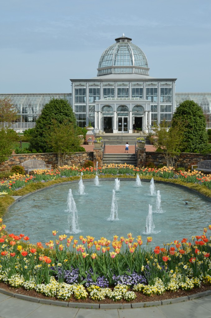 The Conservatory in spring.