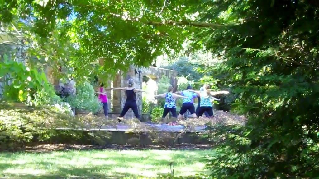 Yoga in Flagler Garden