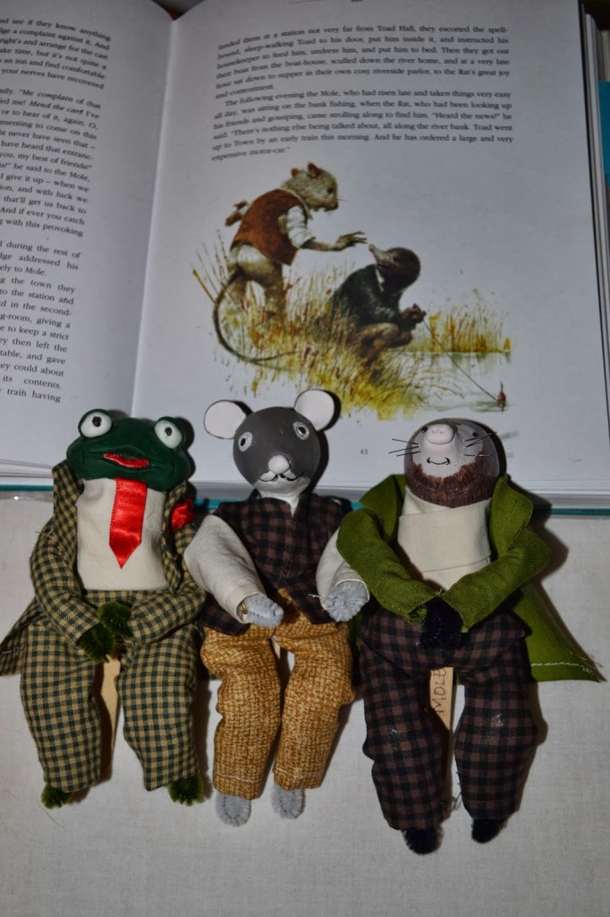 Mr. Toad, Ratty, and Mole