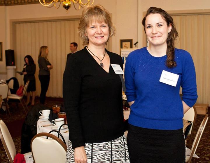 Former Garden PR Intern Caitlin  Puffenberger & Director of Public Relations Beth Monroe