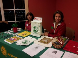 Representatives from Keep Henrico Beautiful and CVWMA shared some clever craft ideas and fun takeaways.