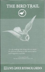 bird trail brochure