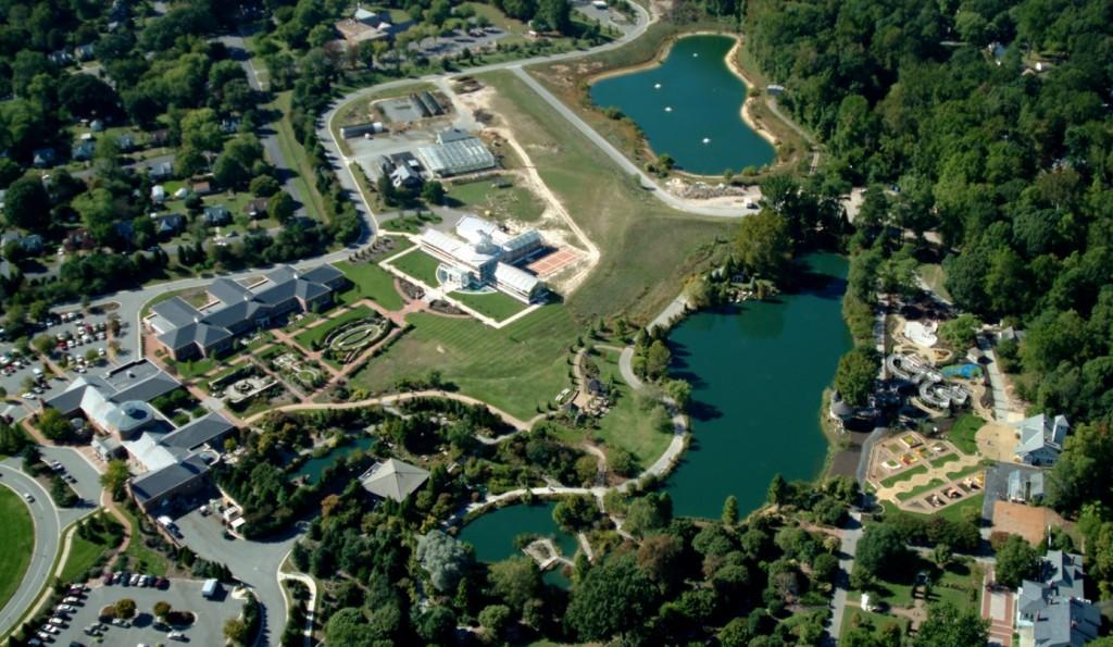 Lewis Ginter Botanical Garden in 2005.