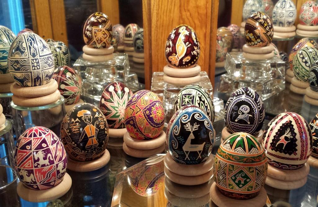 Georgine Muc's Pysanky Eggs