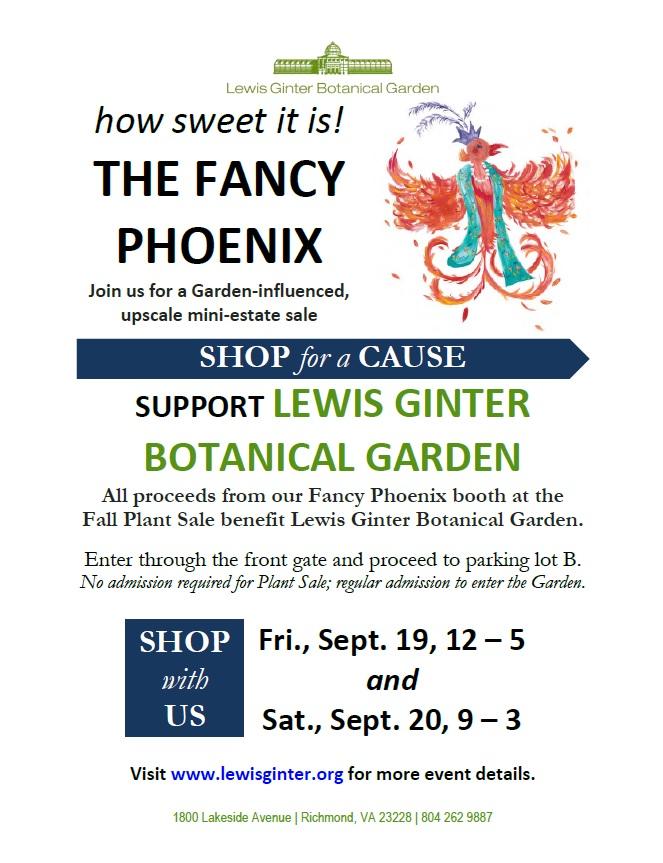 Details on the Fancy Phoenix Sale