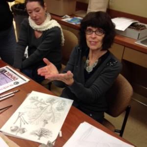 Alice Tangerini teaching.