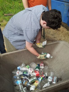 Sorting cans