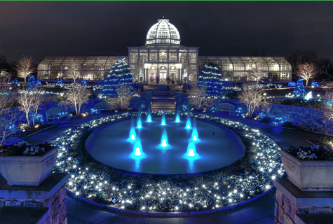 Dominion GardenFest of Lights Conservatory by Don Williamson