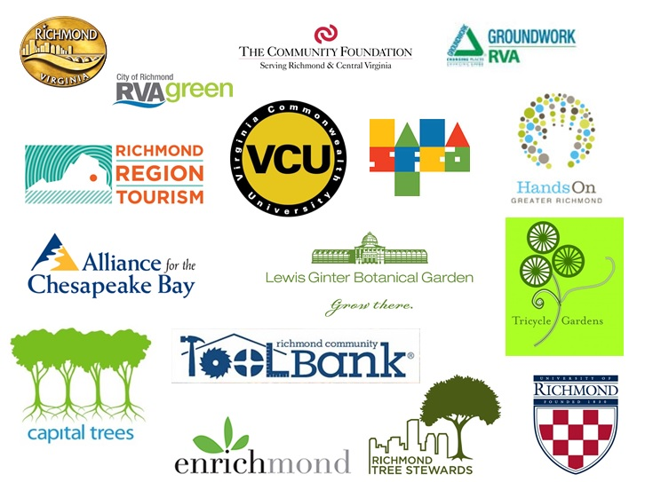 Logos of Beautiful RVA partner organizations
