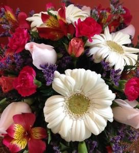 Wedding Floral Design Trailing Bouquet