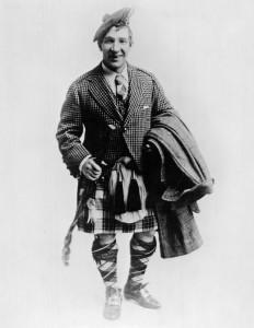 """Sir Henry """"Harry"""" Lauder, 1922."""