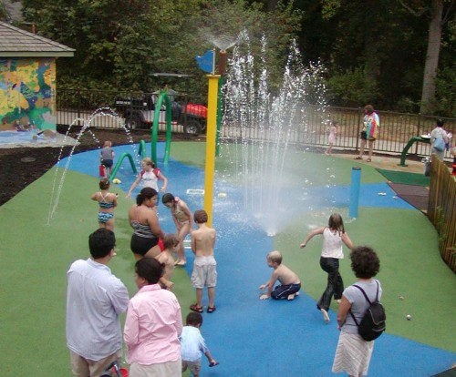 WaterPlay in spring and summer