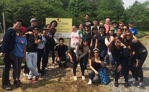 Kings Dominion volunteers, many of whom traveled from the Philippines to work in the U.S. for the summer
