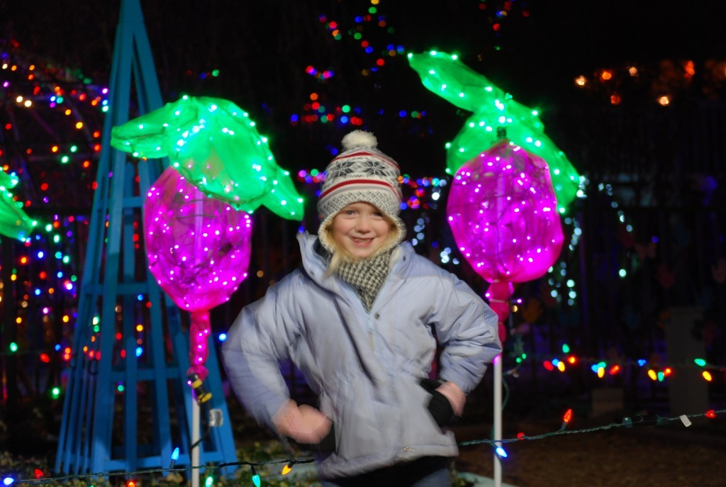 girl with lollypop lights