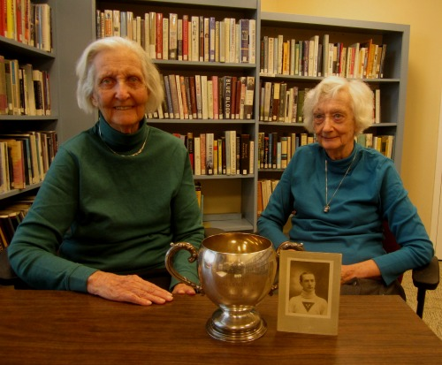 Carol Cover, left, and Helen Tanner, right