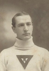 Albert S. Tanner in his Richmond College sweater