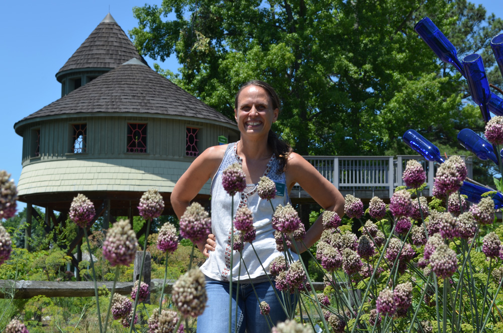 Mitra Bryant, Children's Garden Educator and the CWD Kids Treehouse