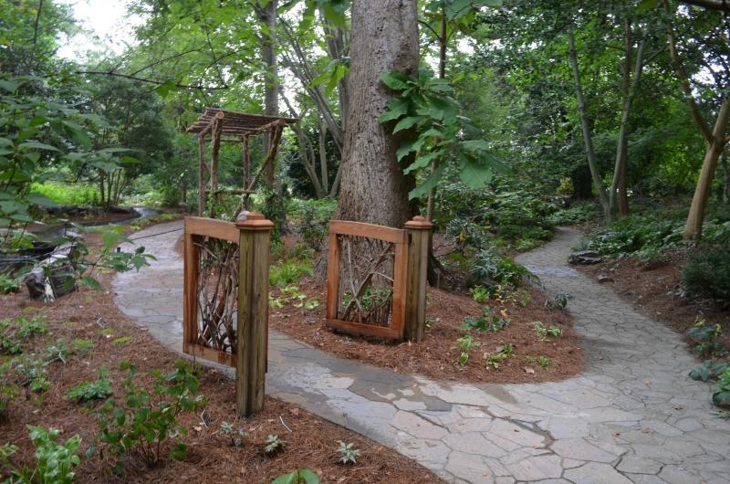 Dot's Garden rhododendron gates