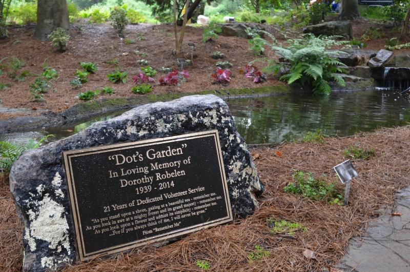 Dot's memorial marker