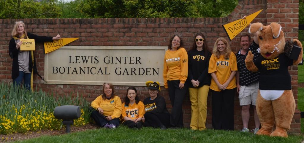 VCU alum on Garden staff