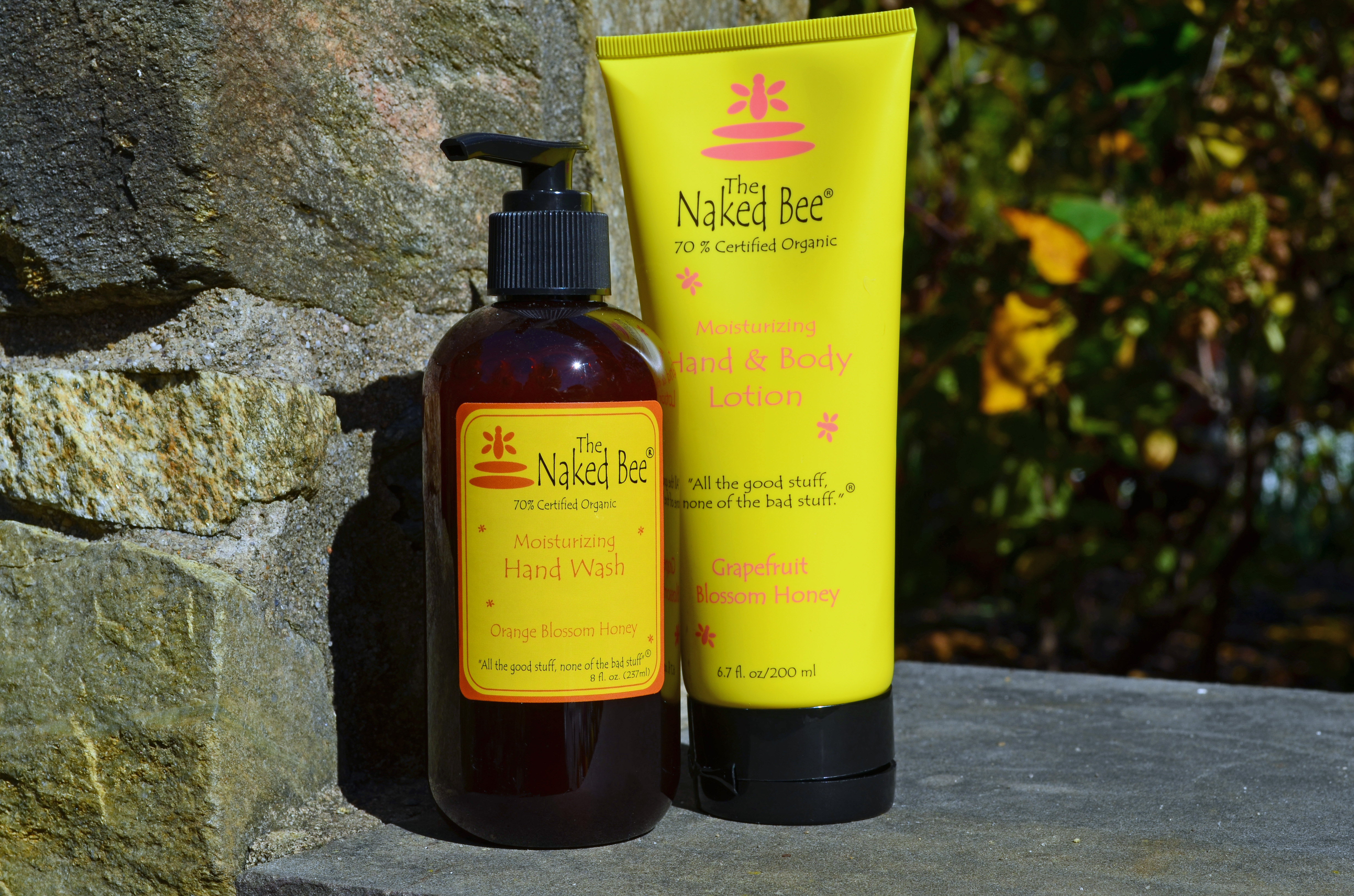 Honey soap and lotion