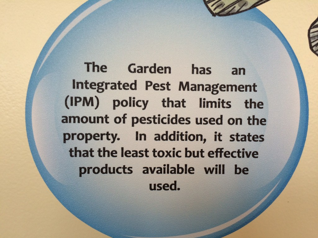 Integrated Pest Management bubble