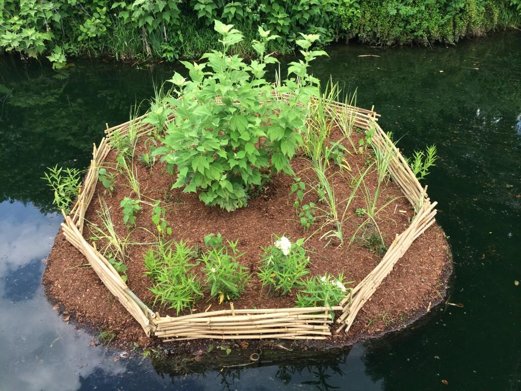 floating island garden