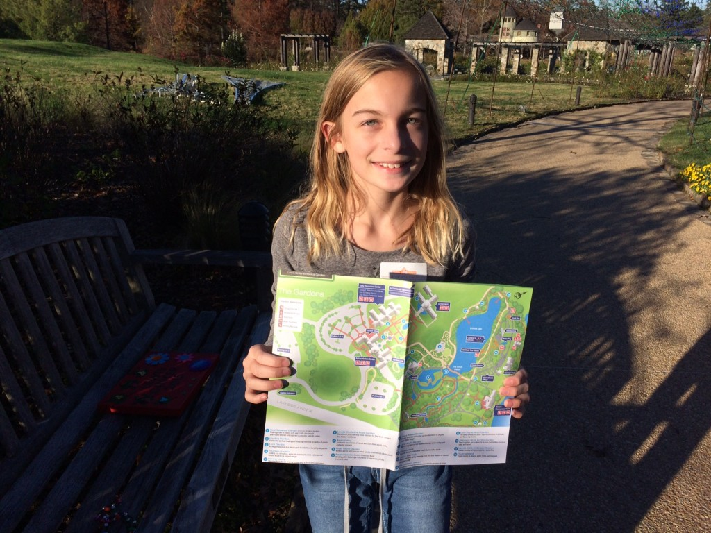 gretchen and the garden map