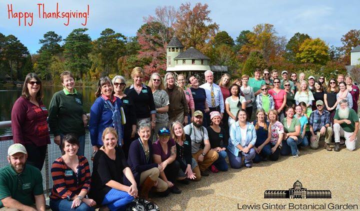 Staff photo on Lotus bridge