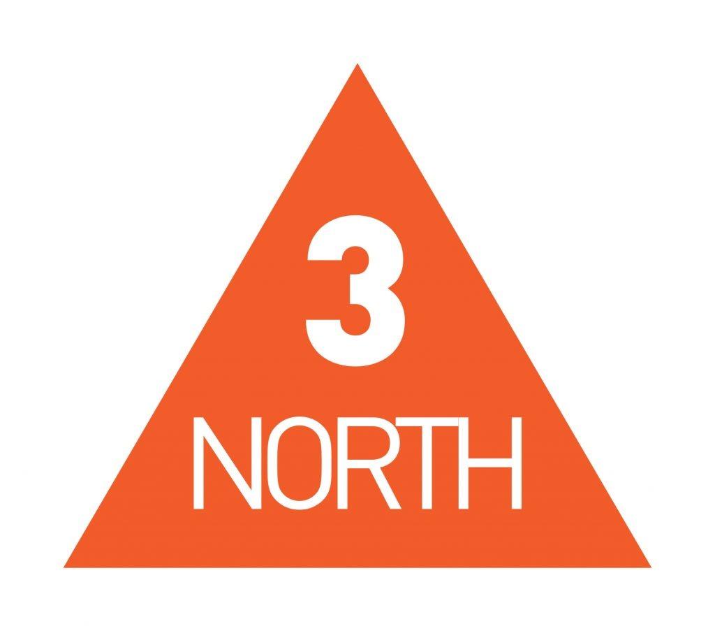 3 North logo