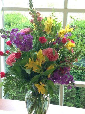 Basic Floral Design Arrangement