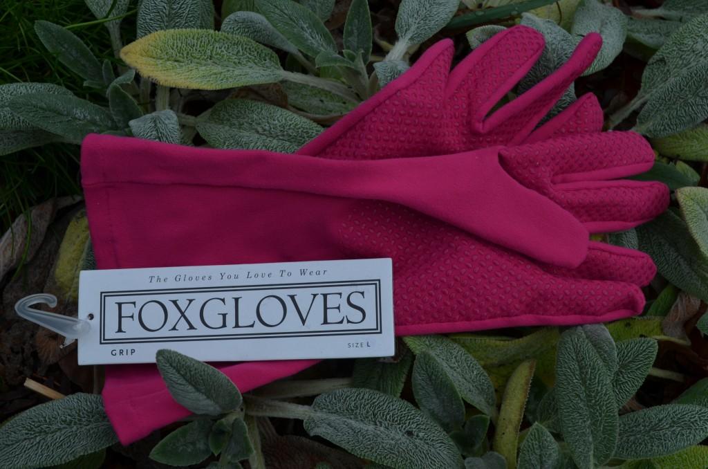 Foxgloves gloves in pink