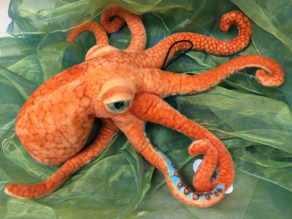 toy octopus plush