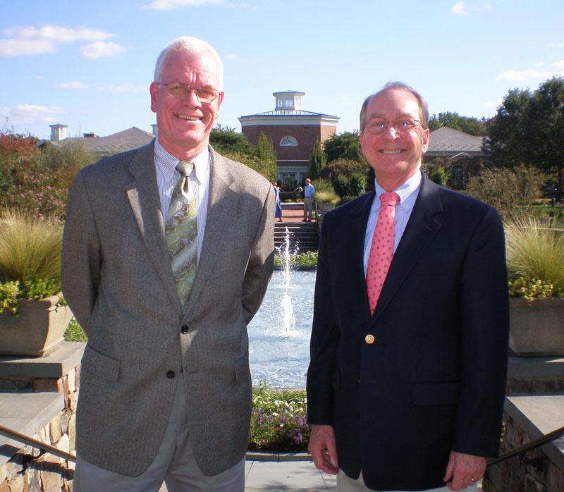 Shane Tippett and Frank Robinson